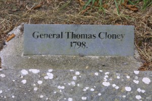 Gen T Cloney Headstone