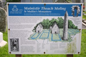 St Mullins Informational Sign